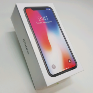 BRAND NEW SEALED IPHONE X 256GB SPACE GREY ON SALE