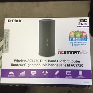 D-link dual wireless router AC 1750