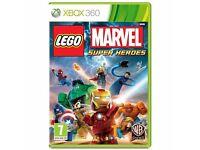 New & Sealed Xbox 360 Lego Super Heroes Game