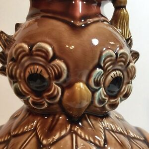 Vintage Owl Cookie Jar with Grad cap Made in Japan Collectible  Moose Jaw Regina Area image 2