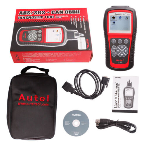 USA Ship Original Autel AutoLink AL619 OBDII CAN ABS SRS Scan Tool Update Online