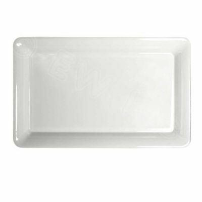 Plastic Serving Tray, Clear 18