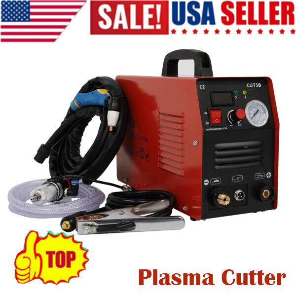 110V/220V CUT50 50AMP Plasma Welding Cutter Digital Cutting Inverter Machine US