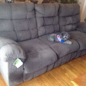Reclining couch in stephenville $600 obo
