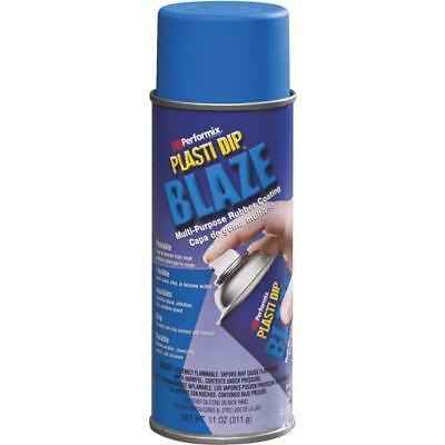 6 Pk Performix Plasti Dip 11 Oz Blaze Blue Rubber Coating Spray Paint 11219-6