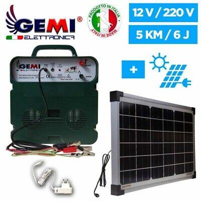 Pastores eléctricos 12V / 220V Electrificadores Cerca eléctrica con Panel Solar