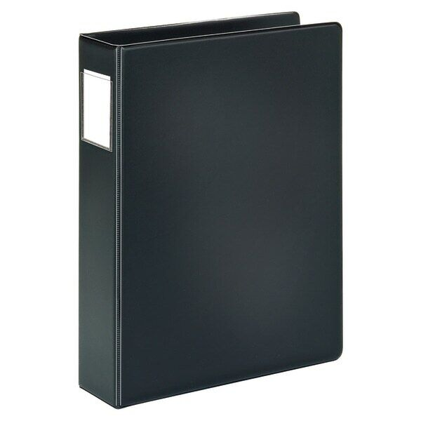 "Office Depot Brand Durable Legal Size 2"" Ring Reference Binder, Black"