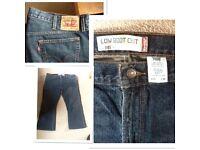 Levi jeans size 38w/28 leg