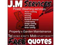 JMProperty & Garden maintenance