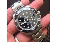 Rolex Submariner black ceramic bezel ***reduced from £195 to £155**