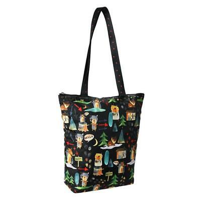 LeSportsac Classic Collection Daily Tote Bag in Hello Bears NWT
