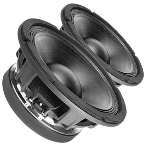 "Pair Faital Pro 10PR410 8ohm 10"" High Output Midrange Replacement speaker 99dB"