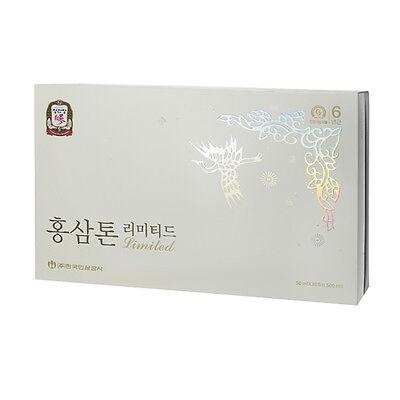 CheongKwanJang Red Ginseng Extract Hongsamtone Limited Earth Grade 地蔘 Plus Herb
