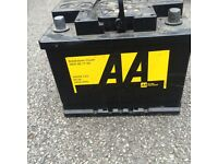 CAR BATTERY ((AA)) Fully working order