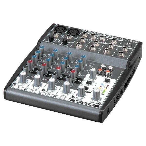 Behringer Xenyx 802 Studio Quality Premium Mixer Mixing Desk Console