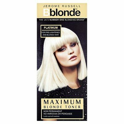 Jerome Russell BBlonde Blonde Toner Colour Platinum Non Permanent 75ml