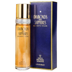 Elizabeth Taylor Diamond and Sapphires 100ml for Women Windsor Region Ontario image 1