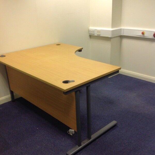 curved office desks. BEECH CURVED OFFICE DESK Curved Office Desks