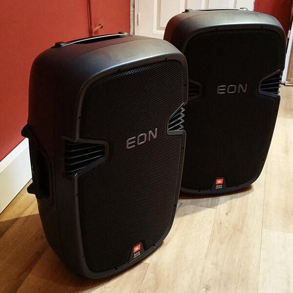 EON 515 JBL Professional Speakers Pair In Slough