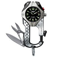 NEVER USED!! Watch/Swiss army knife/Compass/Can clip anywhere!