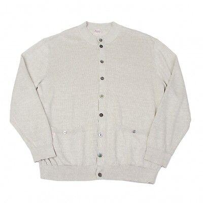 Papas Linen Cardigan Size LL(K-43068)