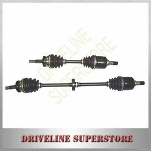 A SET of TWO CV JOINT DRIVE SHAFTS FOR HYUNDAI EXCEL X3 Year 1995-2000 all model