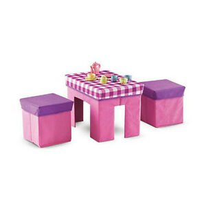 NEW: Collaspible Table & Stools Set