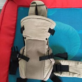 Mothercare three way baby carrier
