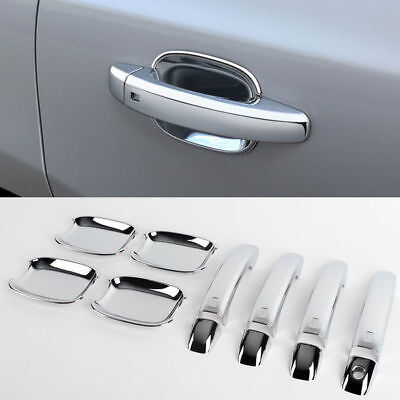 Audi 2008-2010 Q5 Chrome Rear//Tail Light Lamp Cover Molding Exterior Trim D-906
