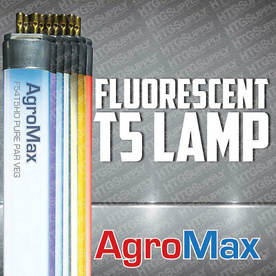 T5 BULBS T5HO HIGH OUTPUT FLUORESCENT LAMP 2 & 4 ft GROW BLOOM UV 1 4 8 25 packs