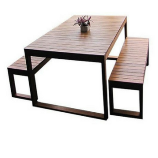 outdoor wooden table png. velit outdoor timber 8 seater slim line wooden table png