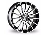 "17"" Wolfrace Pro Sprint Alloy Wheels"