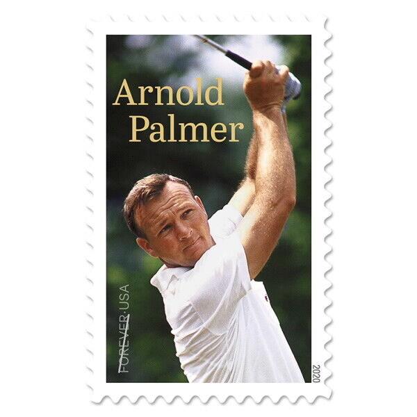 USPS New Arnold Palmer Pane of 20