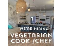 Vegetarian Chef / Cook New Cafe - Winchester