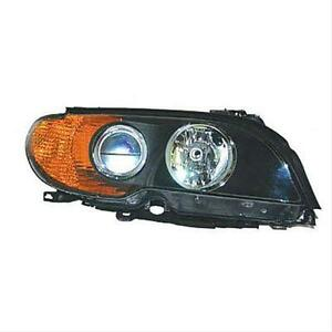 BMW E46 HEAD LAMP RH HALOGEN CPE/CONV AMBER TURN SIGNAL 02-05 HQ