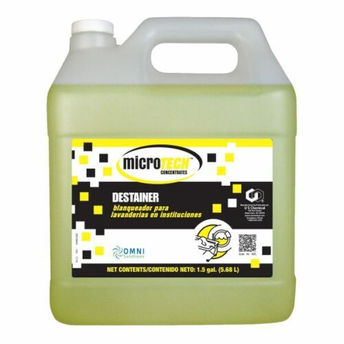 MicroTech Concentrates Destainer, 5337745, Case of 2 (1.5 Gallons)