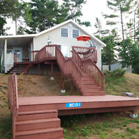 NEW PRICE: Cottage on Private Island on Beautiful Lake Nipissing