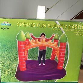 Sports fun bouncy castle