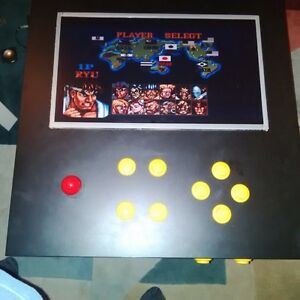 Video Game Arcade Table Custom Built w hundreds of games