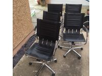10 x Heavy duty well made office chairs