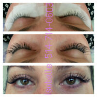 Extensions de cils/Eyelash extension PROMO $60 XtremeLashes MTL