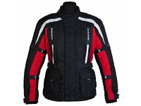 brand new spada textile jacket with tags
