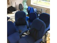 Executive Office Desk Workstation Chairs