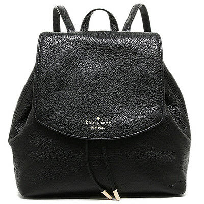 NWT Kate Spade New York Mulberry Street Breezy Small Leather Fashion Backpack