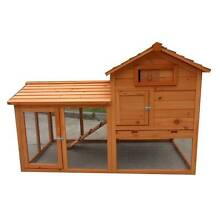 X-LARGE Rabbit Guinea Pig Ferret Coop House Hutch Run Cage P030 Keysborough Greater Dandenong Preview