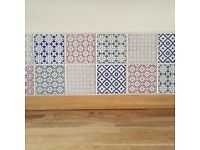 10 x 10cm kitchen wall tiles for sale