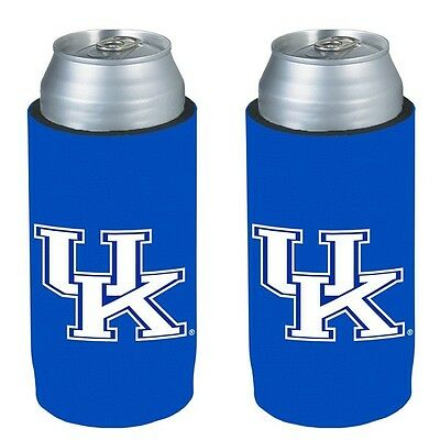 Kentucky Wildcats 2 Pack Ultra Slim Can Holder - Skinny Koozie