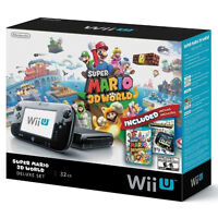Nintendo Wii U Console, Controllers and 11 Games