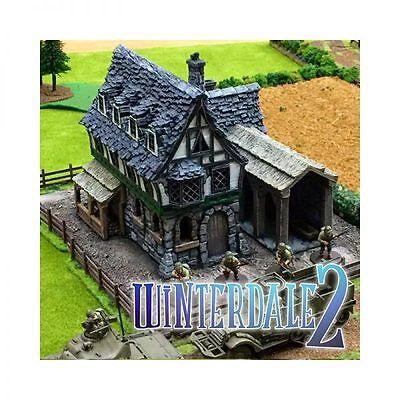 Winterdale Tavern  28mm Tabletop Games Dwarven Forge D&D Terrain Wargaming