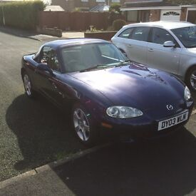 Mazda MX5 Nevada ( very low mileage for year)